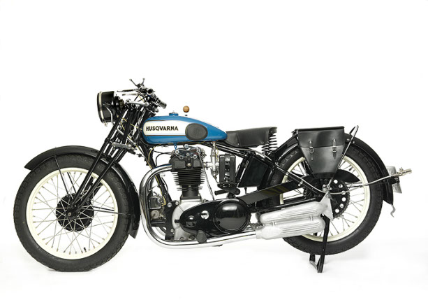 Harley Davidson 1928 28b 350cc 1 Cyl Sv: Våra Motorcyklar